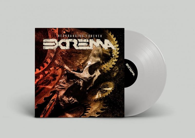 EXTREMA - Headbanging Forever [VINYL - SILVER]