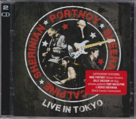 Portnoy, Sheehan, MacAlpine, Sherinian Live In Tokyo 2 CD