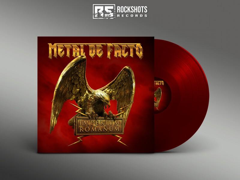 METAL DE FACTO - Imperium Romanum [VINYL BLOOD RED]