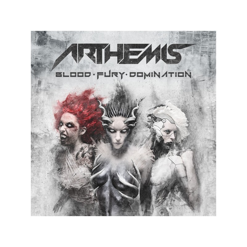 ARTHEMIS - BLOOD FURY DOMINATION  DIGIPACK