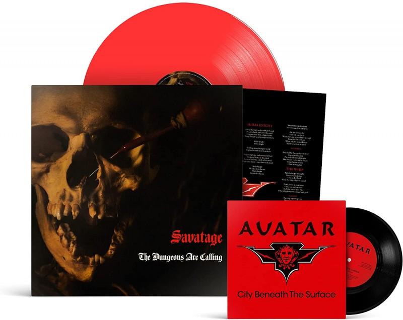 SAVATAGE - The Dungeons Are Calling (RED VINYL + 7 inch)