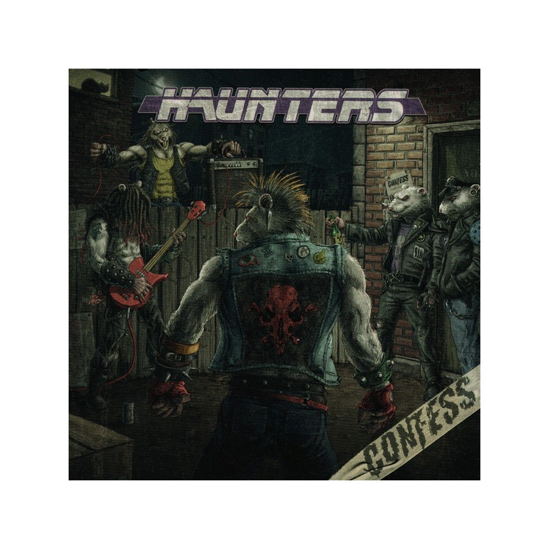 CONFESS - Haunters