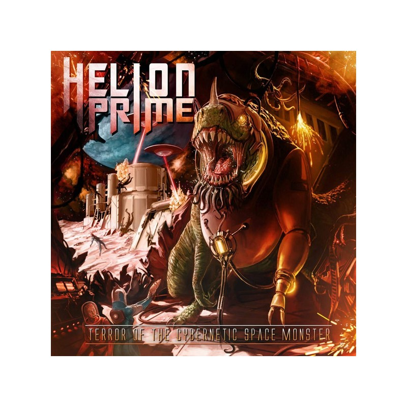 Helion Prime – Terror Of The Cybernetic Space Monster