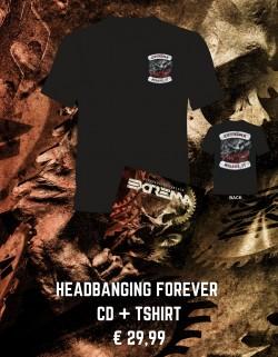 Headbanging Forever Tshirt...